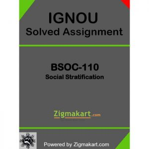 IGNOU BSOC-110 Solved Assignment