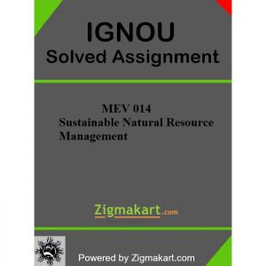 IGNOU MEV-014 Solved Assignment